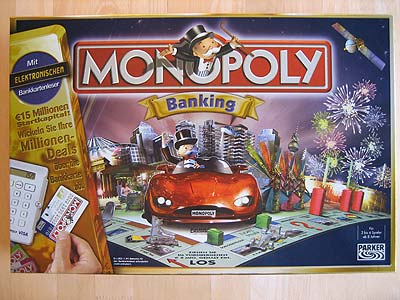 Monopoly Banking - Spielbox