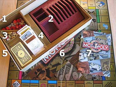 Monopoly Deluxe Edition - Spielmaterial