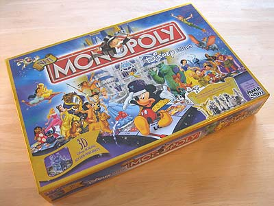 Monopoly Disney Edition - Spielbox