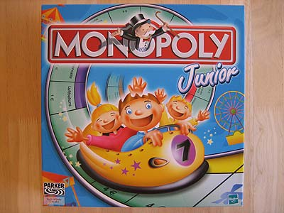 Monopoly Junior - Spielbox