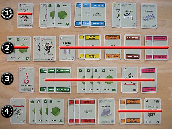 Monopoly Spielkarten