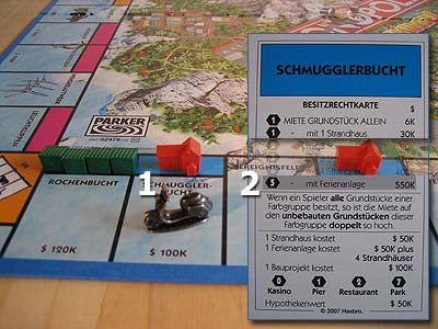 Monopoly Trauminsel - Hotels bauen