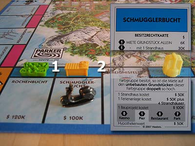 Monopoly Trauminsel - Sonderbauprojekte