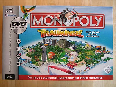 Monopoly Trauminsel - Spielbox