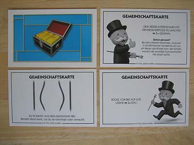 Monopoly Gefängnis Karte
