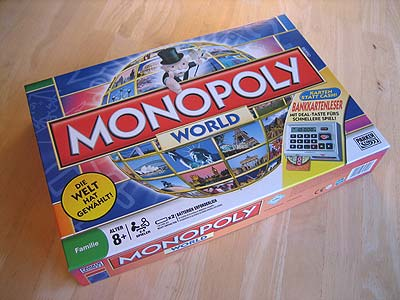 Monopoly World - Spielbox