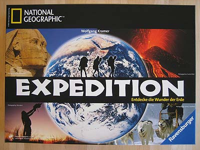 National Geographic Expedition - Spielbox