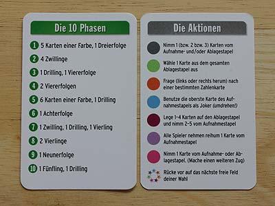 Regeln Phase 10