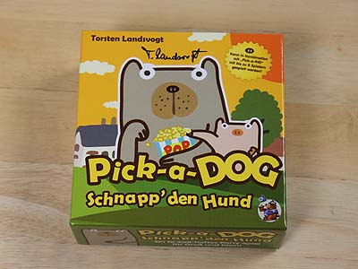 Pick-a-Dog - Spielbox