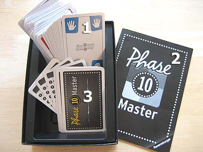 Phase 10 Master - Spielmaterial