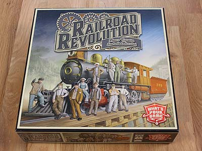Railroad Revolution - Spielbox