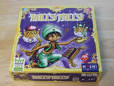 Rally Fally - Spielbox