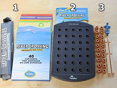 River Crossing - Spielmaterial