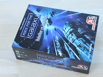 Race for the Galaxy - Rebellen vs. Imperium - Spielbox