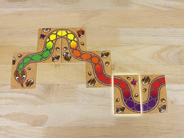 Regenbogenschlange Spiel