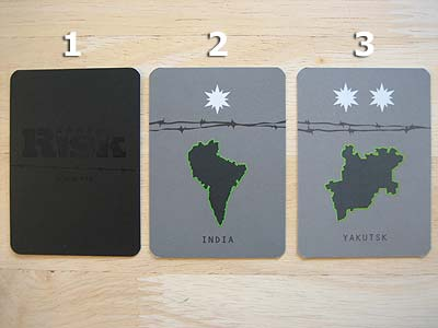 Risk Black Ops - Cards