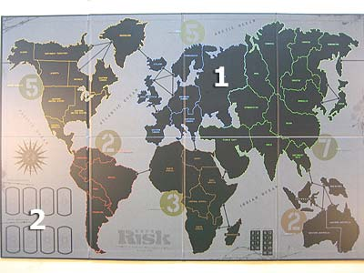 Risk Black Ops - Gameboard