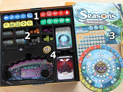 Seasons - Spielmaterial