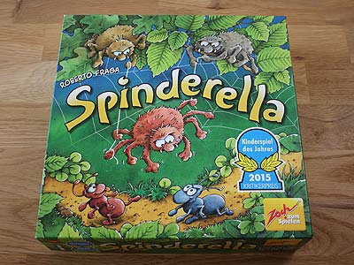 Spinderella - Spielbox