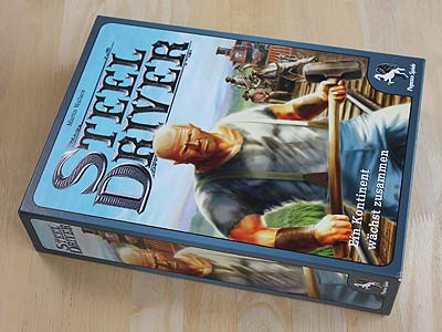 Steel Driver - Spielbox