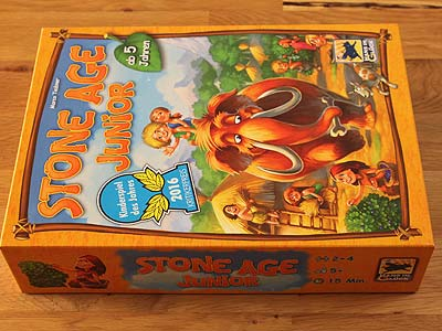 Stone Age Junior - Spielbox