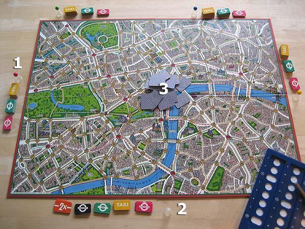 Scotland Yard Spielanleitung