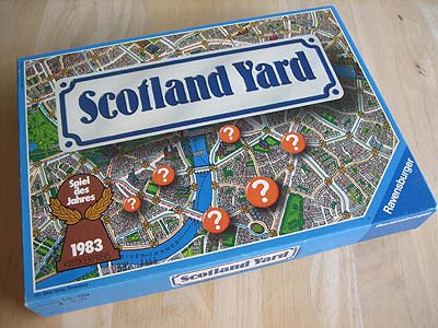Scotland Yard - Spielbox