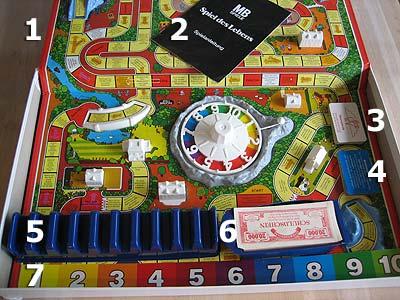 Spielanleitung Spiel Des Lebens 1978