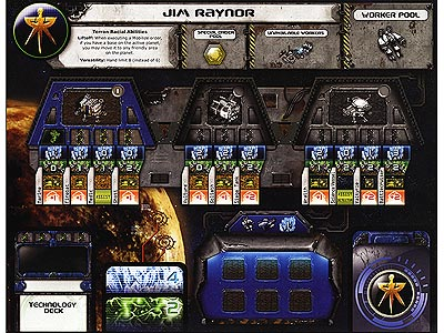 StarCraft - Brood War - Jim Raynor Faction Sheet