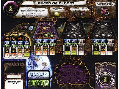 StarCraft - Brood War - Queen of Blades Faction Sheet