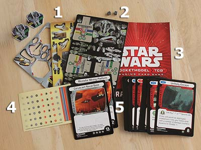 Star Wars - Pocketmodel - Order 66 - Theme Deck - Elite Assault - Spielmaterial
