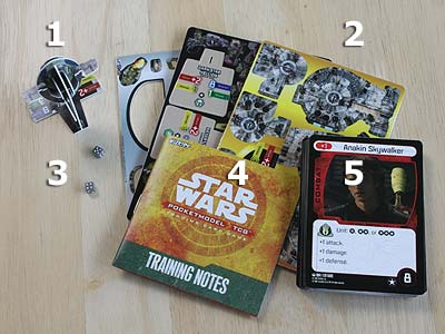 Star Wars - Pocketmodel - TCG - Scum and Villainy - Theme Deck - Thermal Detonation - Spielmaterial