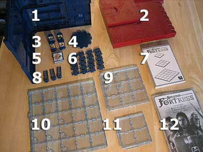 Stratego Fortress - Spielmaterial
