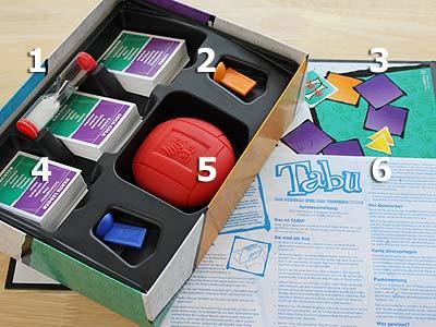 Tabu Kartenspiel
