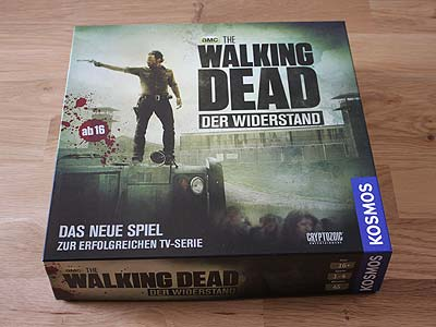 the walking dead der widerstand brettspiele report. Black Bedroom Furniture Sets. Home Design Ideas