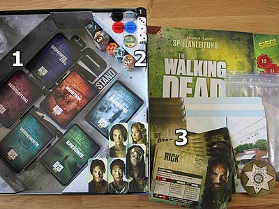 The Walking Dead - Der Widerstand - Spielmaterial