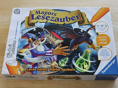 Magors Lesezauber - Spielbox
