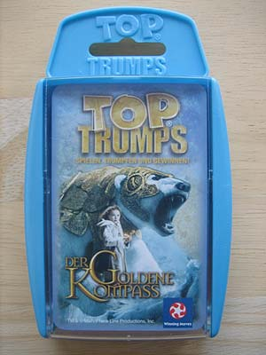 Top Trumps - Der goldene Kompass - Spielbox