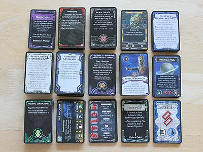 Twilight Imperium 3 - Shards of the Throne - Cards