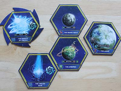 Twilight Imperium 3 - Shards of the Throne - Home Systems