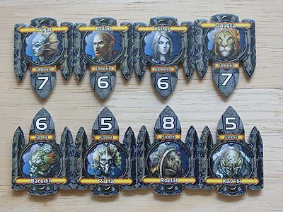 Twilight Imperium 3 - Shards of the Throne - Mercenary Tokens