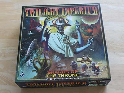 Twilight Imperium 3 - Shards of the Throne - Spielbox