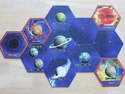 Twilight Imperium 3 - Shards of the Throne - New System Tiles