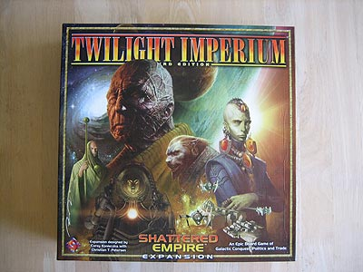 Twilight Imperium 3 - Shattered Empire - Spielebox