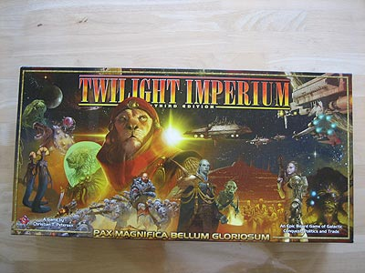 Twilight Imperium 3 - Spielebox