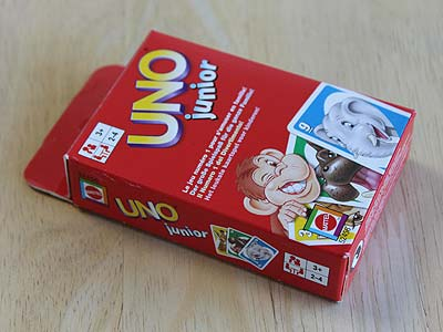 UNO Junior - Spielbox