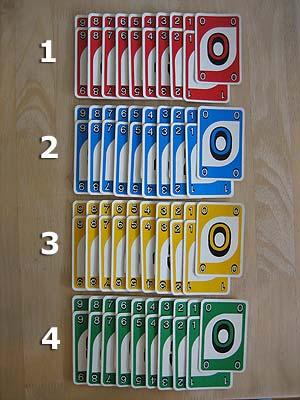 Kartenspiel Anzahl Karten