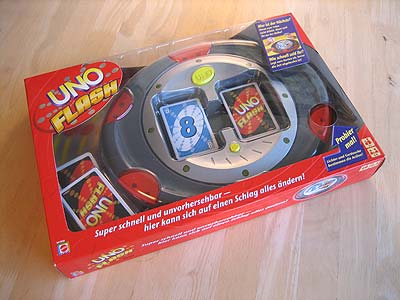 UNO Flash - Spielbox