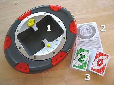 UNO Flash - Spielmaterial