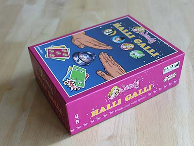 Wendy - Halli Galli - Spielbox